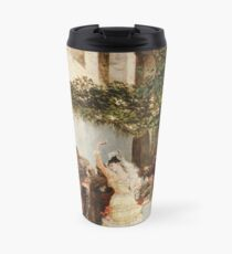 Georges Jules Victor Clairin - The Spanish Dancers Travel Mug