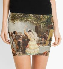 Georges Jules Victor Clairin - The Spanish Dancers Mini Skirt