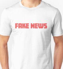 Fake News White Shirt T-Shirt