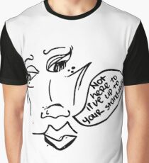 Carefree Woman Graphic T-Shirt