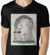 Georges Barbier - The Bride Mens V-Neck T-Shirt