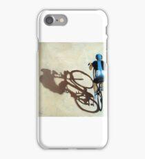 Single Focus Tour de France bicycle oil painting iPhone Case/Skin