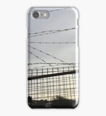 Barbwire Fence iPhone Case/Skin