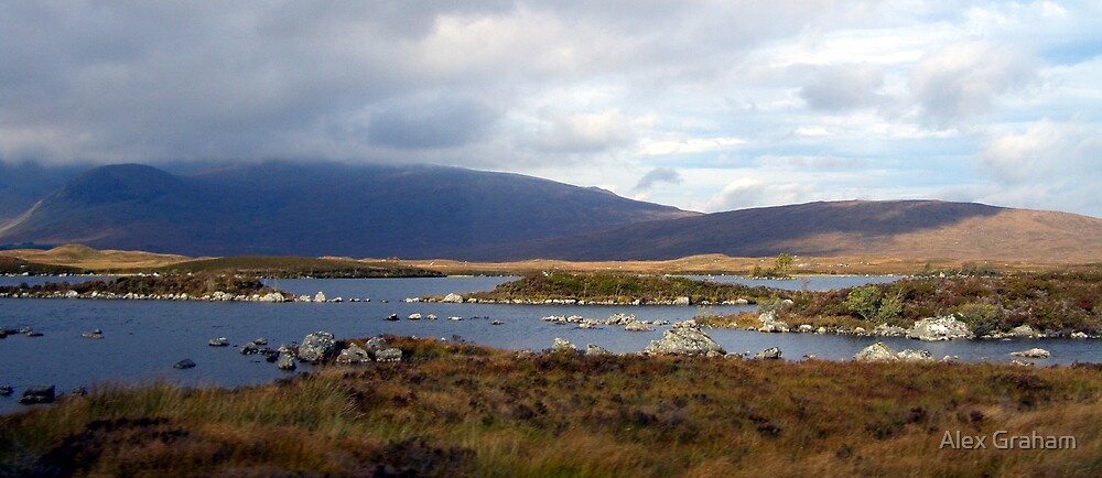 Scottish Highland Loch by Alex Graham