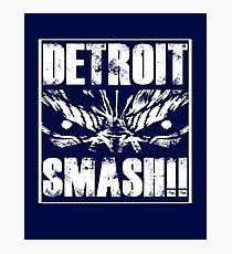 Detroit Smash!!! Photographic Print