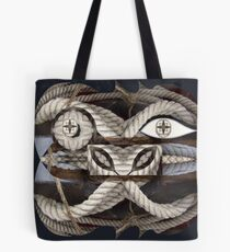 Nautical face Tote Bag