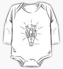 Be The Light - Matthew - Christian Bible Verse One Piece - Long Sleeve
