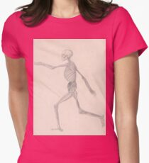 George Stubbs - Skeleton Womens Fitted T-Shirt