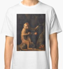 George Stubbs - A Monkey (1799) Classic T-Shirt