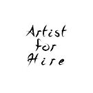 Artist for Hire by Leah McNeir