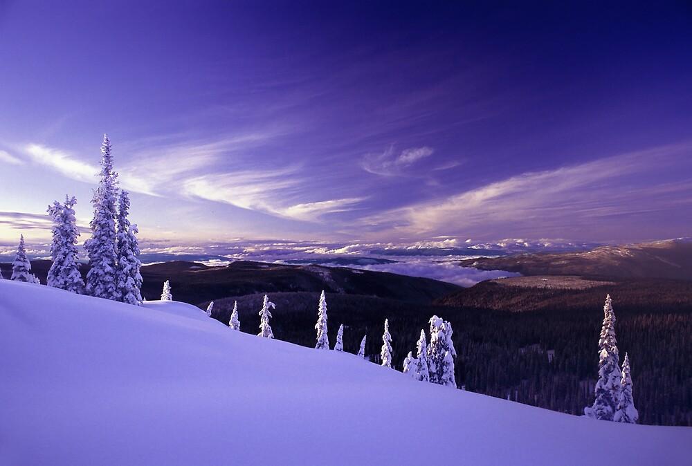 Alpine Blue by Don Guindon