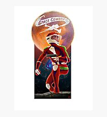 Space Cowboy - First Son of Mars Photographic Print