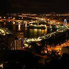 View from Mirador de Gibralfaro, Malaga by wiggyofipswich
