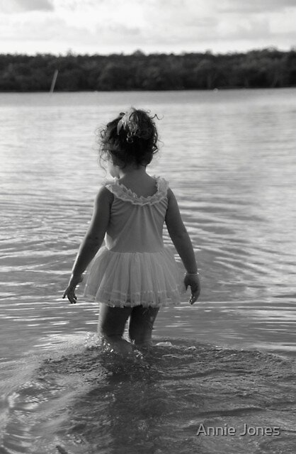 Treading water by Annie Jones