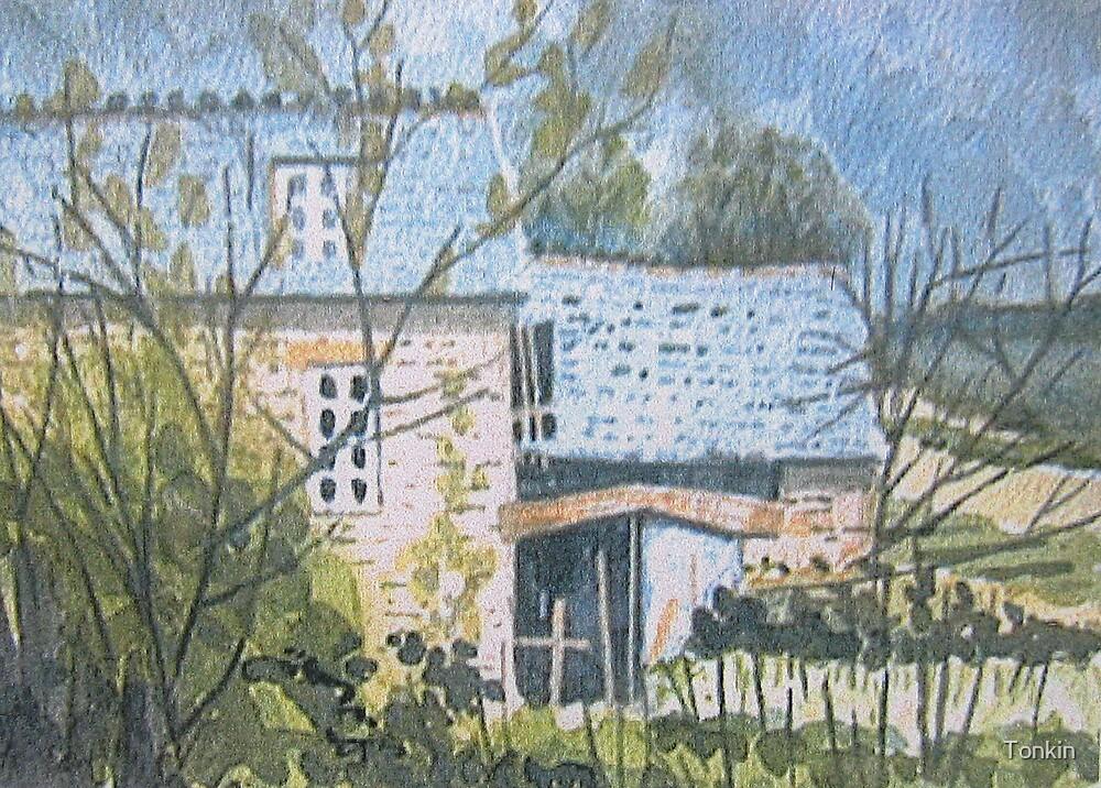 Le Moulin de Boiry, Brittany by Tonkin