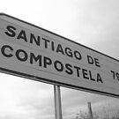 A long way to Santiago de Compostela by Richard McCaig
