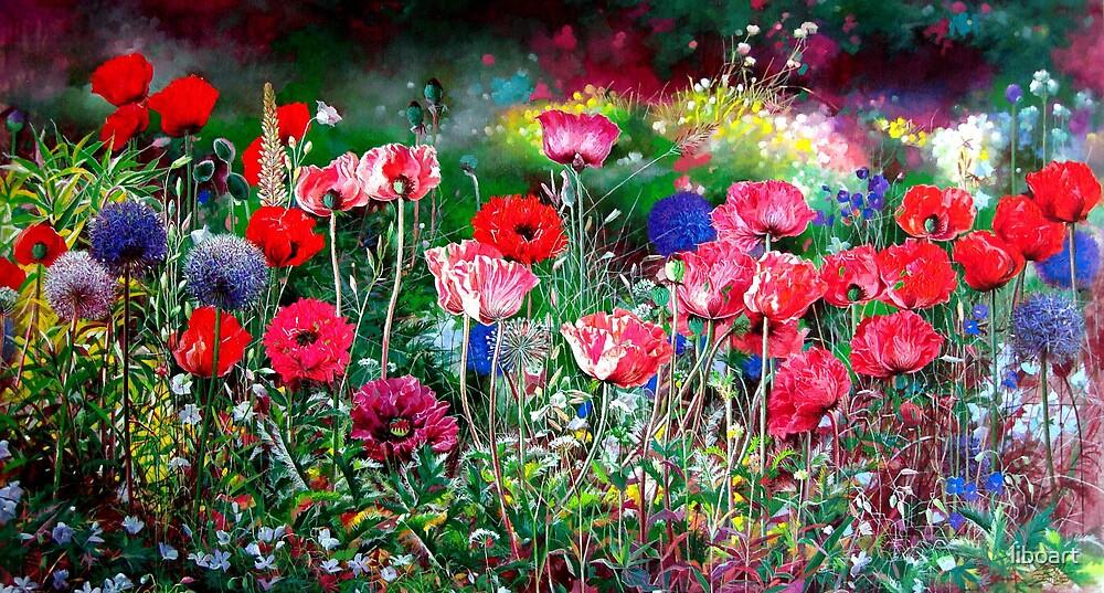 Dance poppy by liboart