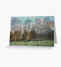 Montacute House Estate, Somerset Greeting Card