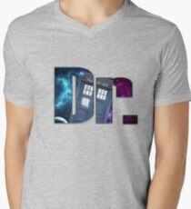 Dr....Who? Mens V-Neck T-Shirt