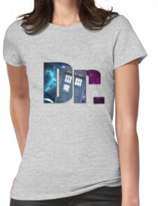 Dr....Who? Womens Fitted T-Shirt