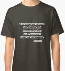 Infinite, Albert Einstein  Classic T-Shirt