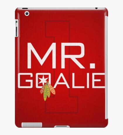 Mr. Goalie iPad Case/Skin