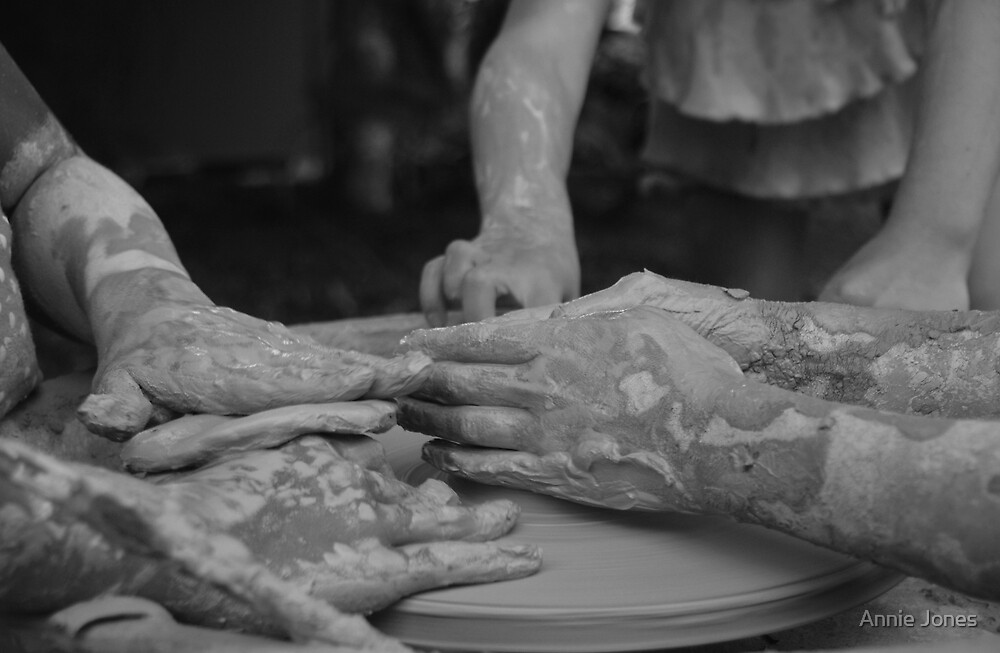 Too many hands by Annie Jones