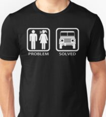 Problem Solved Defender T-Shirt