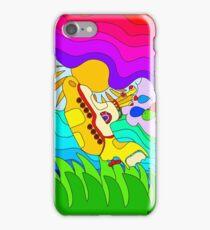 Yellow Submarine Trip iPhone Case/Skin