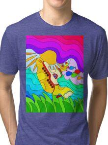 Yellow Submarine Trip Tri-blend T-Shirt