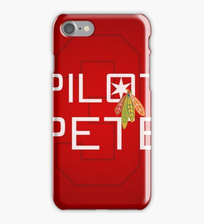 Pilot Pete iPhone Case/Skin