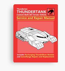 Thundertank Service and Repair Manual Canvas Print