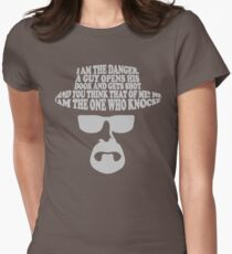 I am the One Who Knocks Picture Women's Fitted T-Shirt