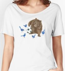 Wrens football Wombat Women's Relaxed Fit T-Shirt