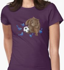 Wrens football Wombat Womens Fitted T-Shirt