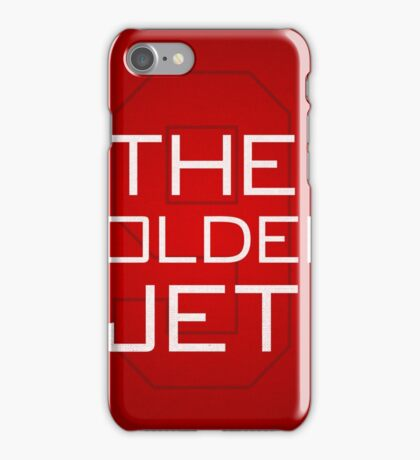 The Golden Jet iPhone Case/Skin