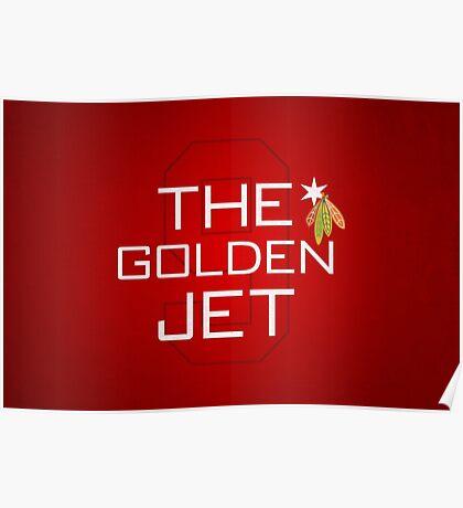The Golden Jet Poster