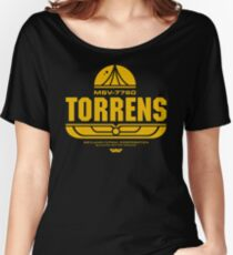 Torrens (yellow) Women's Relaxed Fit T-Shirt