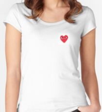 Comme des Garcons PLAY CDG Women's Fitted Scoop T-Shirt