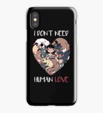 The Love I Need iPhone Case/Skin