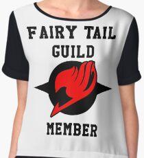 Fairy Tail Guild Member (red & black) Women's Chiffon Top