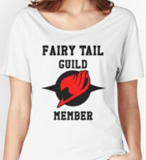 Fairy Tail Guild Member (red & black) Women's Relaxed Fit T-Shirt