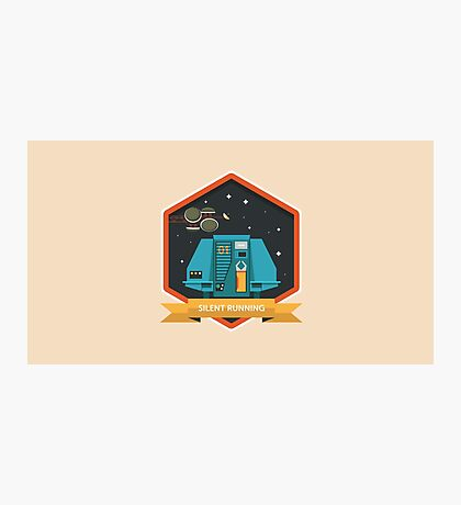 Silent Running Badge Photographic Print
