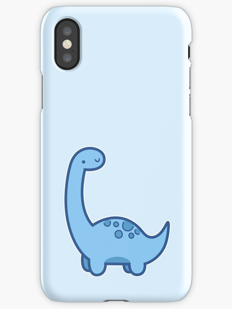 """""""Cute Dino"""" iPhone Cases & Skins by hocapontas"""