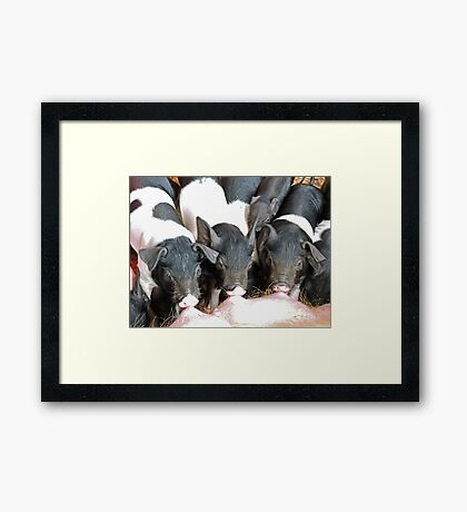 Mother's Milk Is Best Framed Print