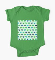 Colorful Cute Hearts Kids Clothes