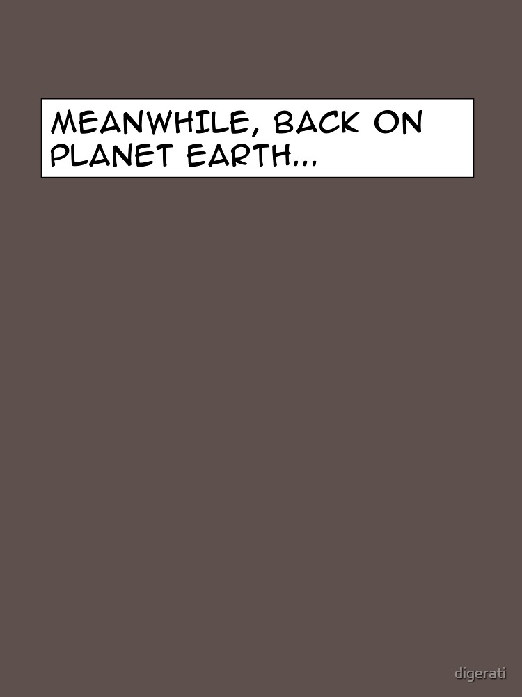 Meanwhile, back on planet earth... by digerati