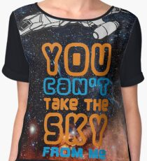 You cant take the sky from me! Chiffon Top