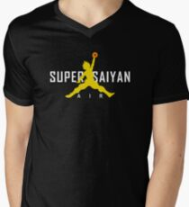 Air Super Saiyan - Classic Men's V-Neck T-Shirt