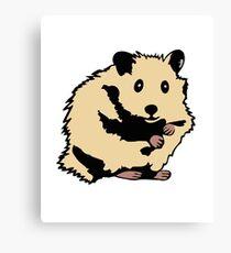 Teddyhamster Hamster Teddy Beard Hamster Canvas Print